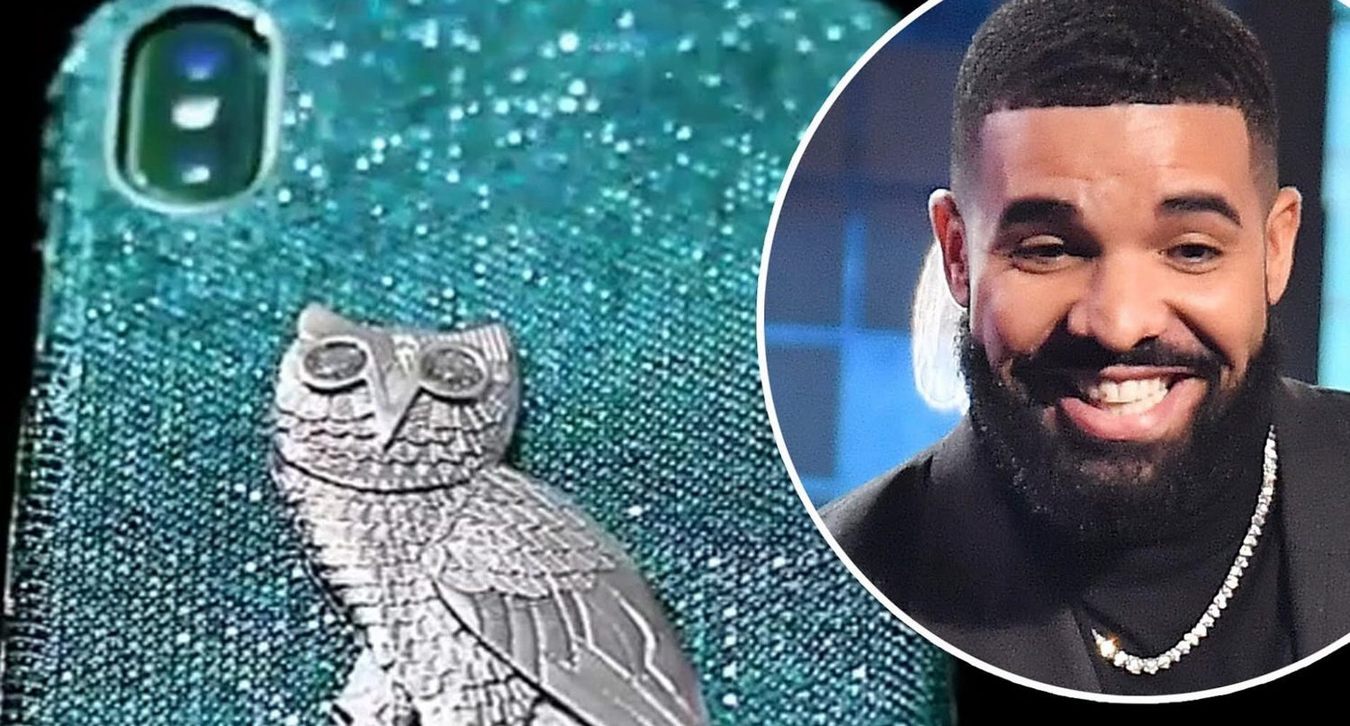 Award-winning rapper Drake has bought a new diamond studded case for his iPhone and it costs more than a Lamborghini