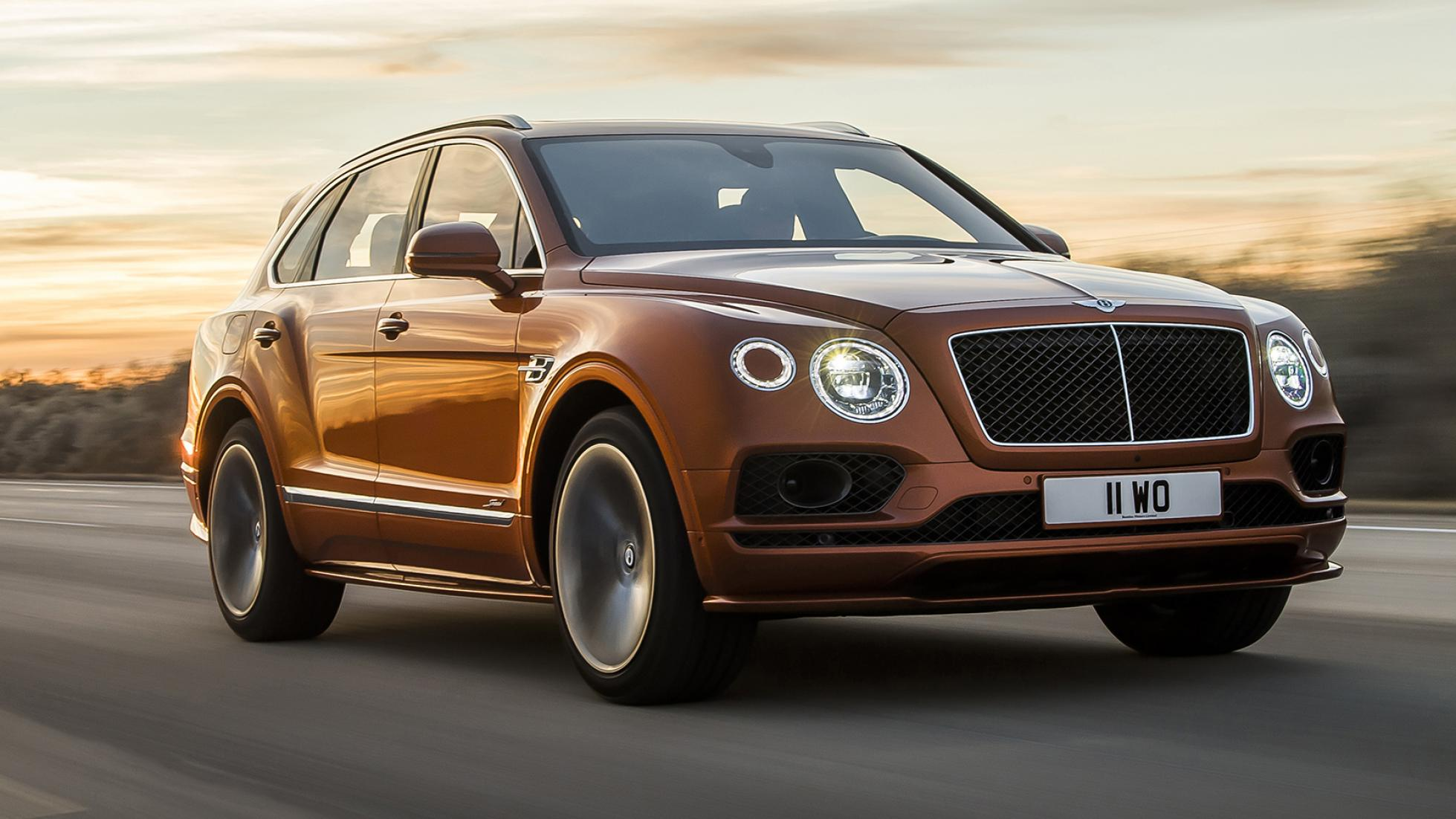The new Bentley Bentayga Speed has usurped the Lamborghini Urus to become the fastest production SUV -