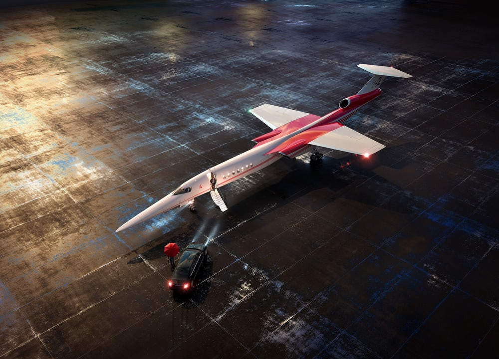 Boeing's upcoming supersonic private jet will take you in the lap of luxury from London to New York in just over three hours