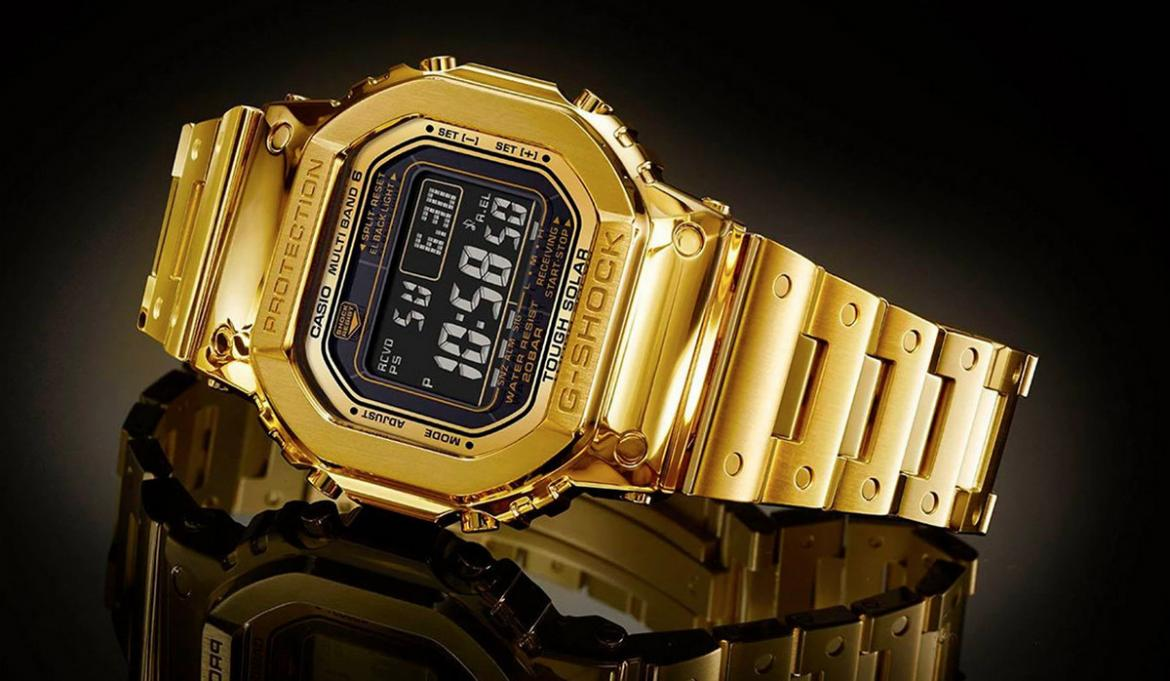Costing $70,000 and made of gold - This watch is not a Patek or a Rolex but its a Casio G-Shock -