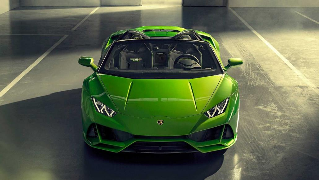 The 2020 Lamborghini Huracan Evo Spyder With Its 202 Mph Top Speed
