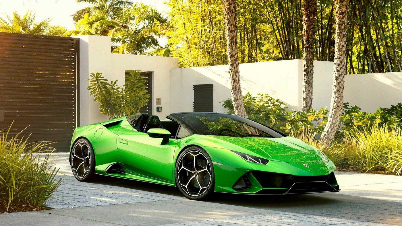 The 2020 Lamborghini Hurac 225 N Evo Spyder With Its 202 Mph