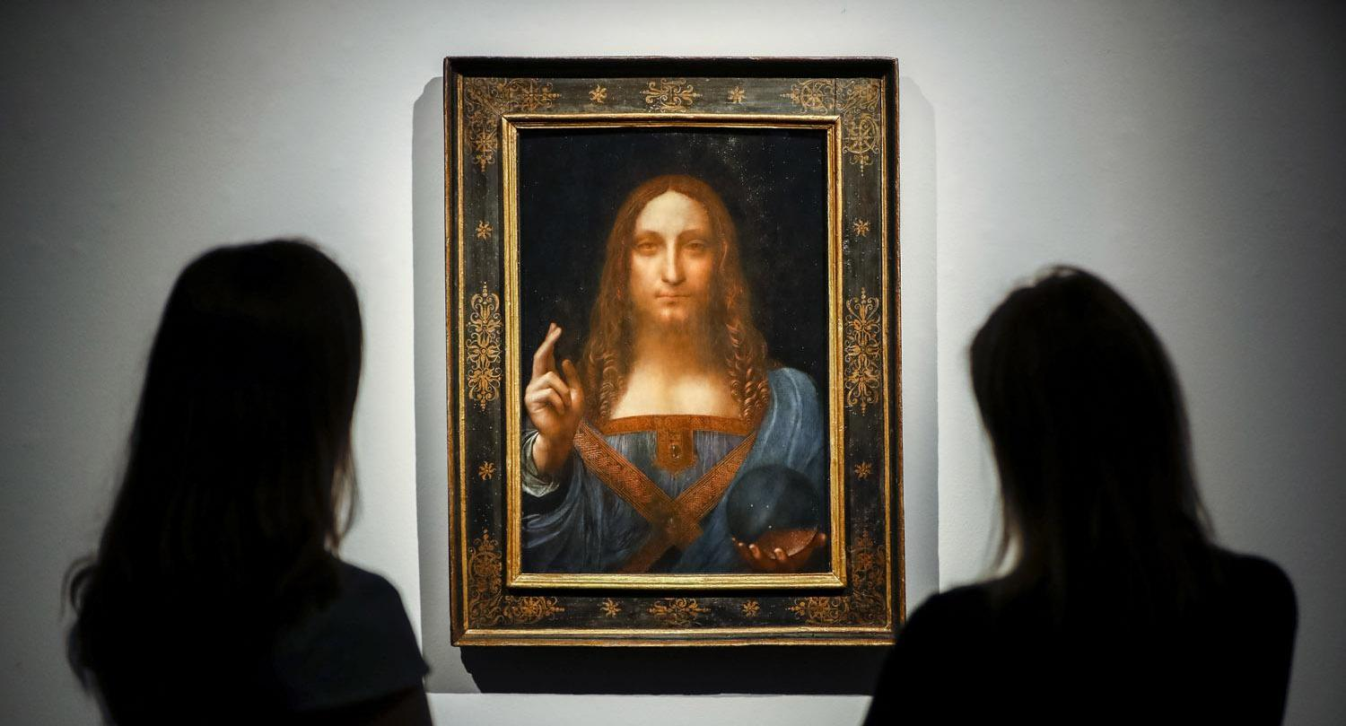 Not so Vinci - $450 million Salvator Mundi painting could be fake -