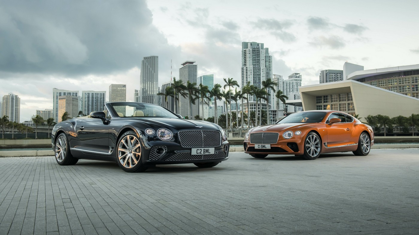The Bentley Continental GT is now available with a fuel-efficient yet powerful V8 engine