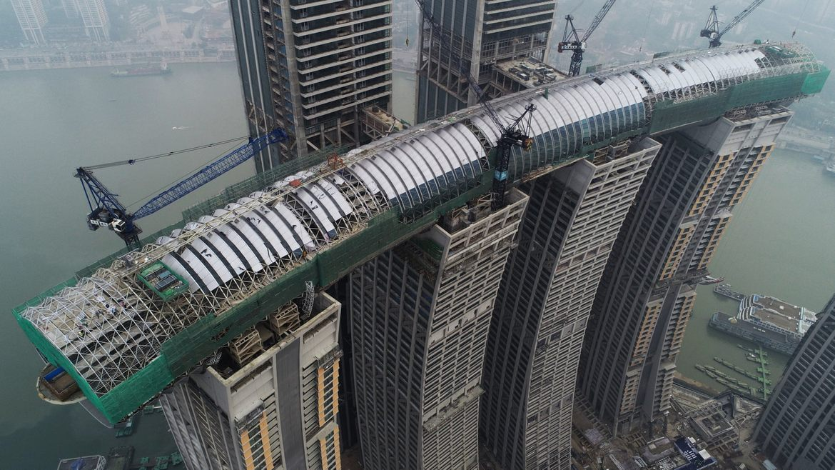 World tallest horizontal skyscraper will soon grace the Chinese city of Chongqing