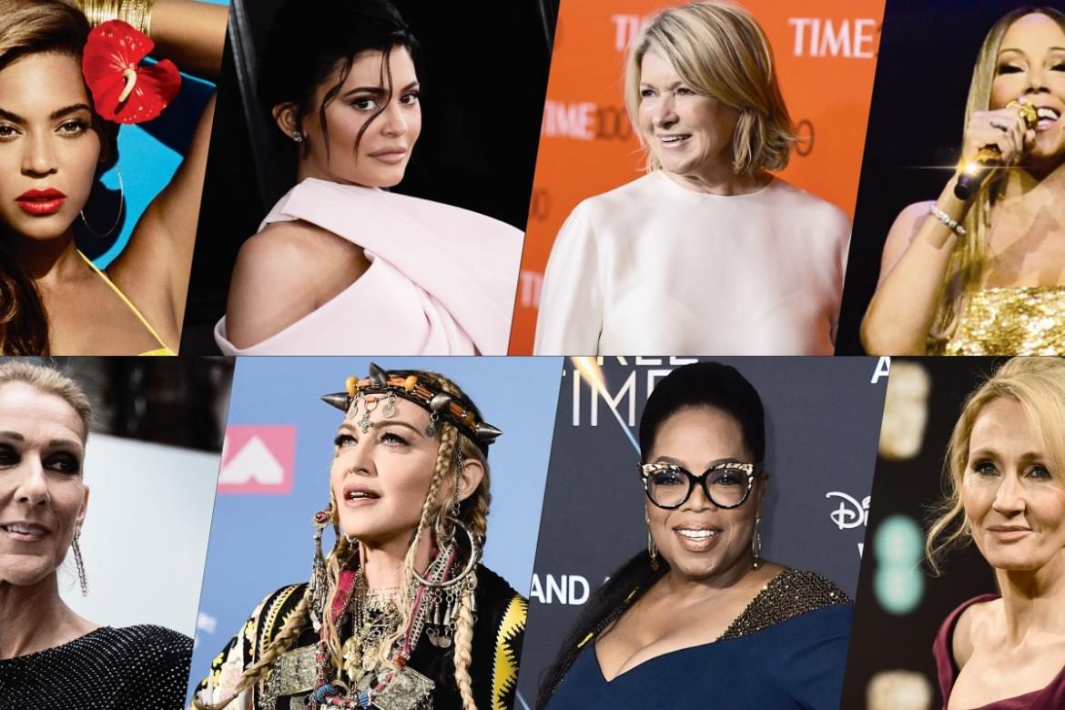 From Kylie Jenner to Martha Stewart: the 8 richest female celebrities in the world -