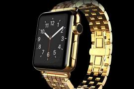 05dcffa6bd9 Made of pure gold and studded with diamonds – This Apple Watch costs more  than a Porsche 911