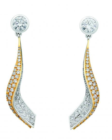 Bentley Jewellery - Wings Single Drop Earring