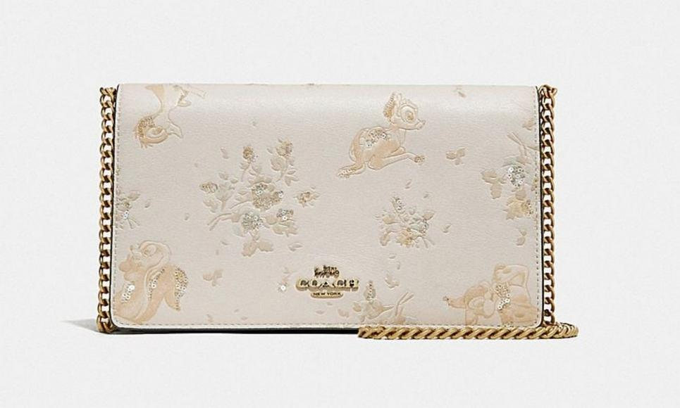 Disney-X-Coach-Callie-Foldover-Chain-Clutch-Disney-Motif