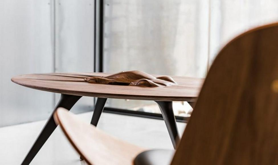 This $17,000 tailor-made coffee table has the silhouette of Aston Martin Valkyrie built onto its surface -