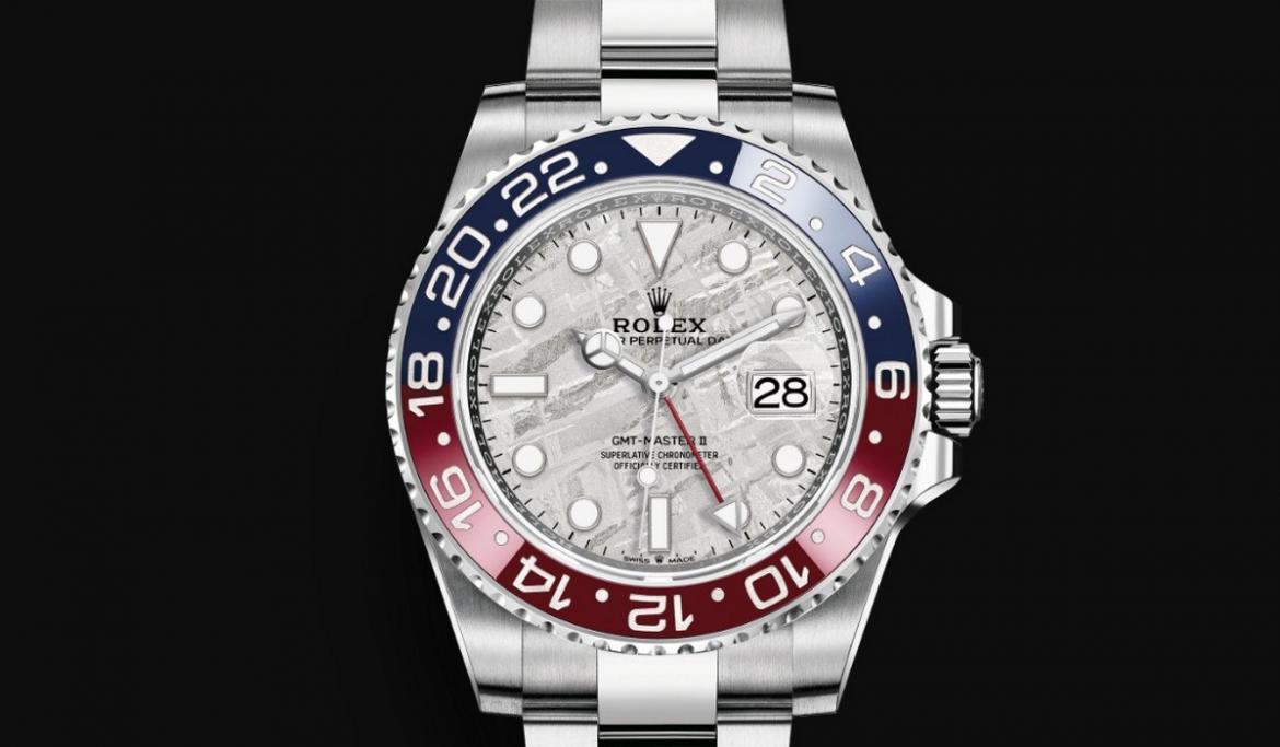 Rolex Gmt Master Ii Pepsi Watch In White Gold Updated With