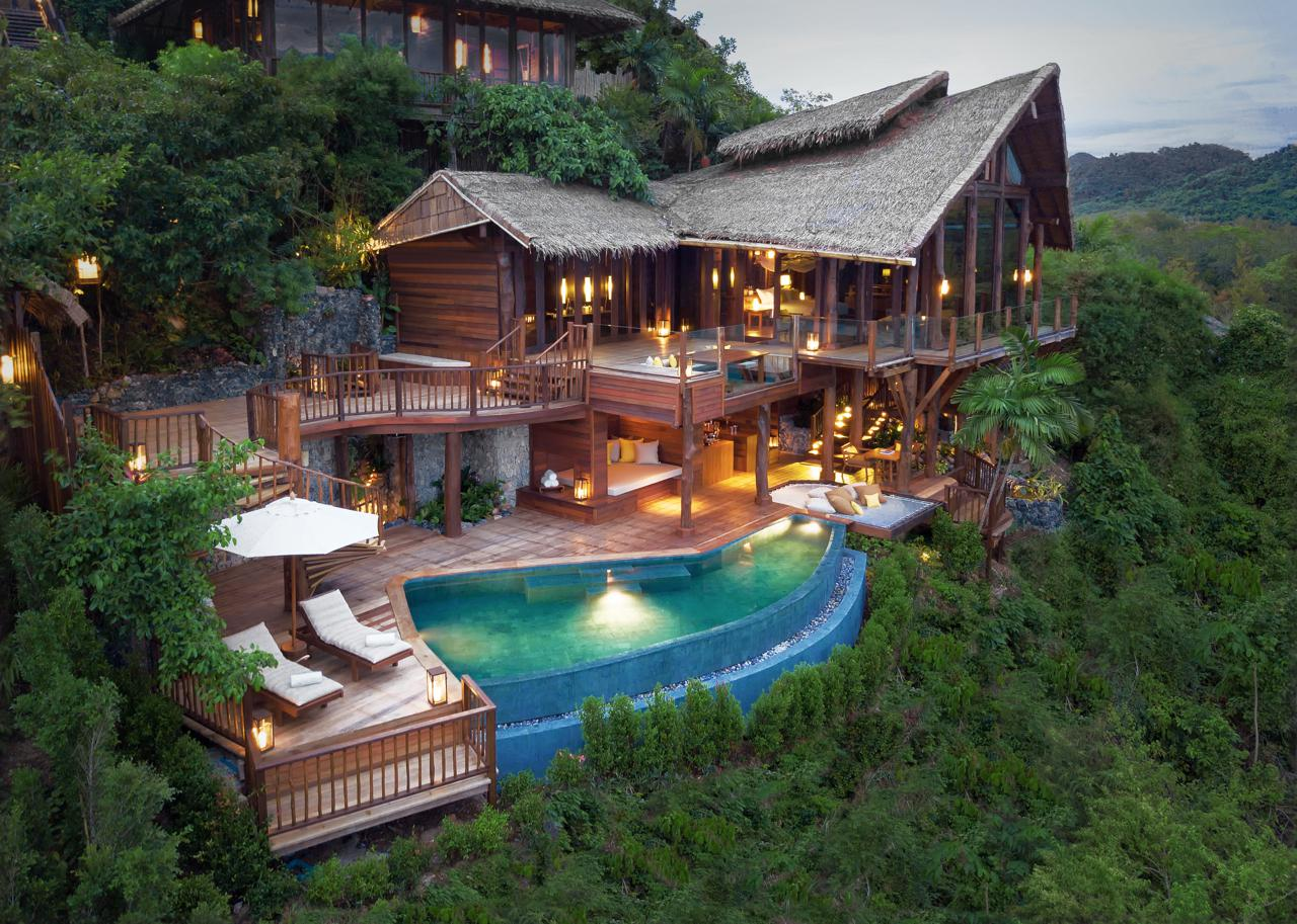 Perched On Top Of A Hill Take A Look Inside Six Senses Yao