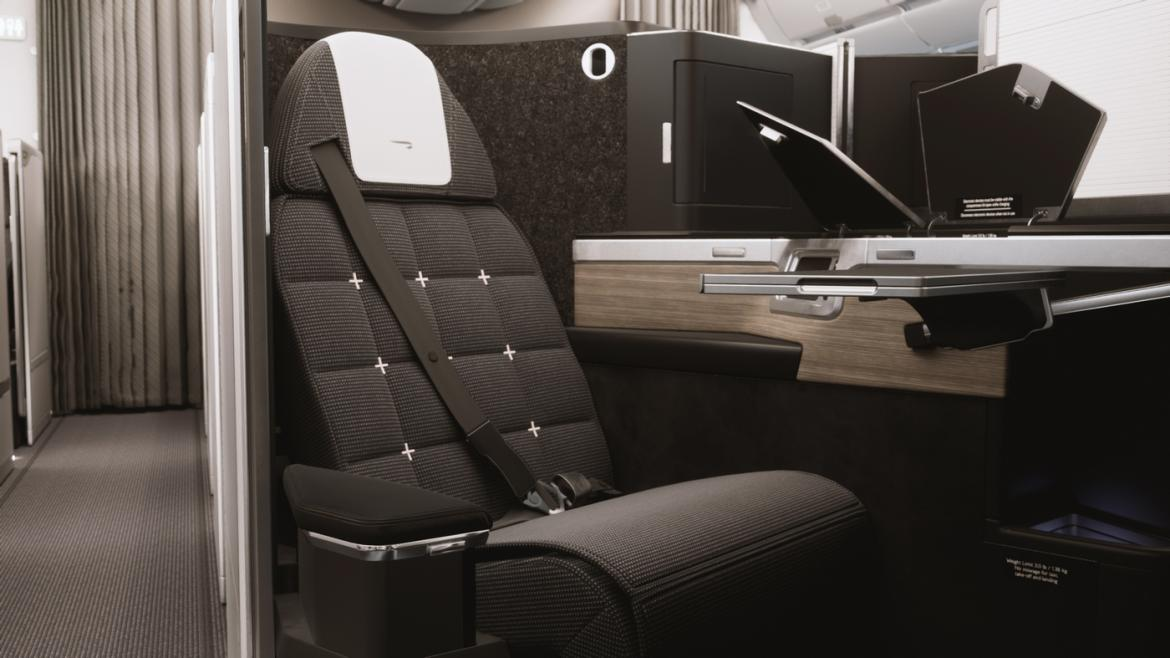 Take that Emirates - British Airways new business class cabin comes complete with individual doors and vanity units -