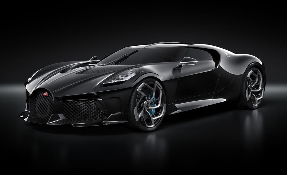 This One Off Bugatti La Voiture Noire Worth 12 5 Million