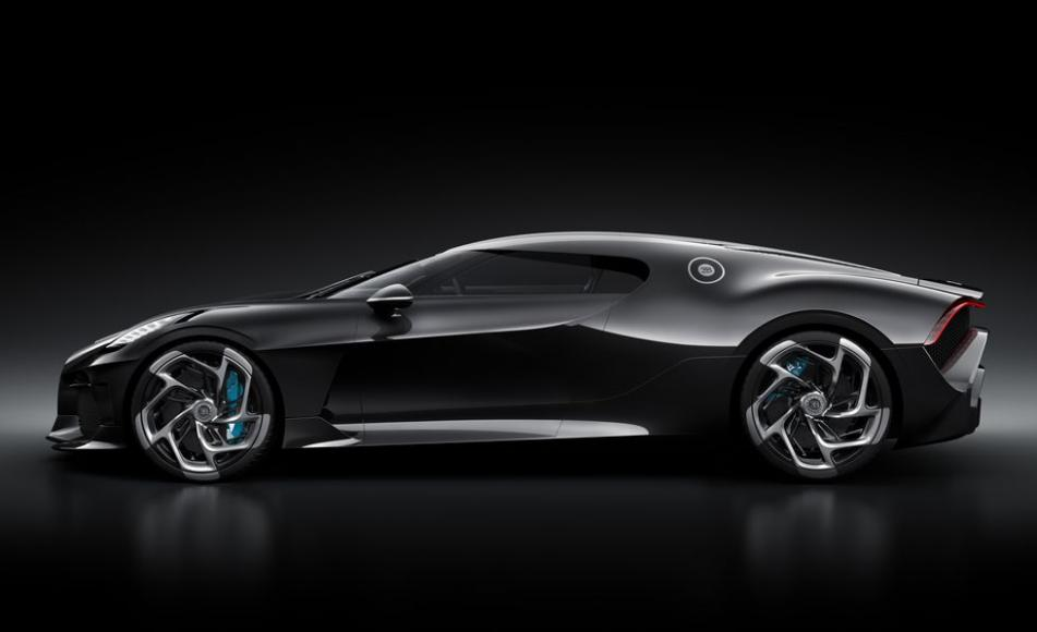 This One Off Bugatti La Voiture Noire Worth 12 5 Million