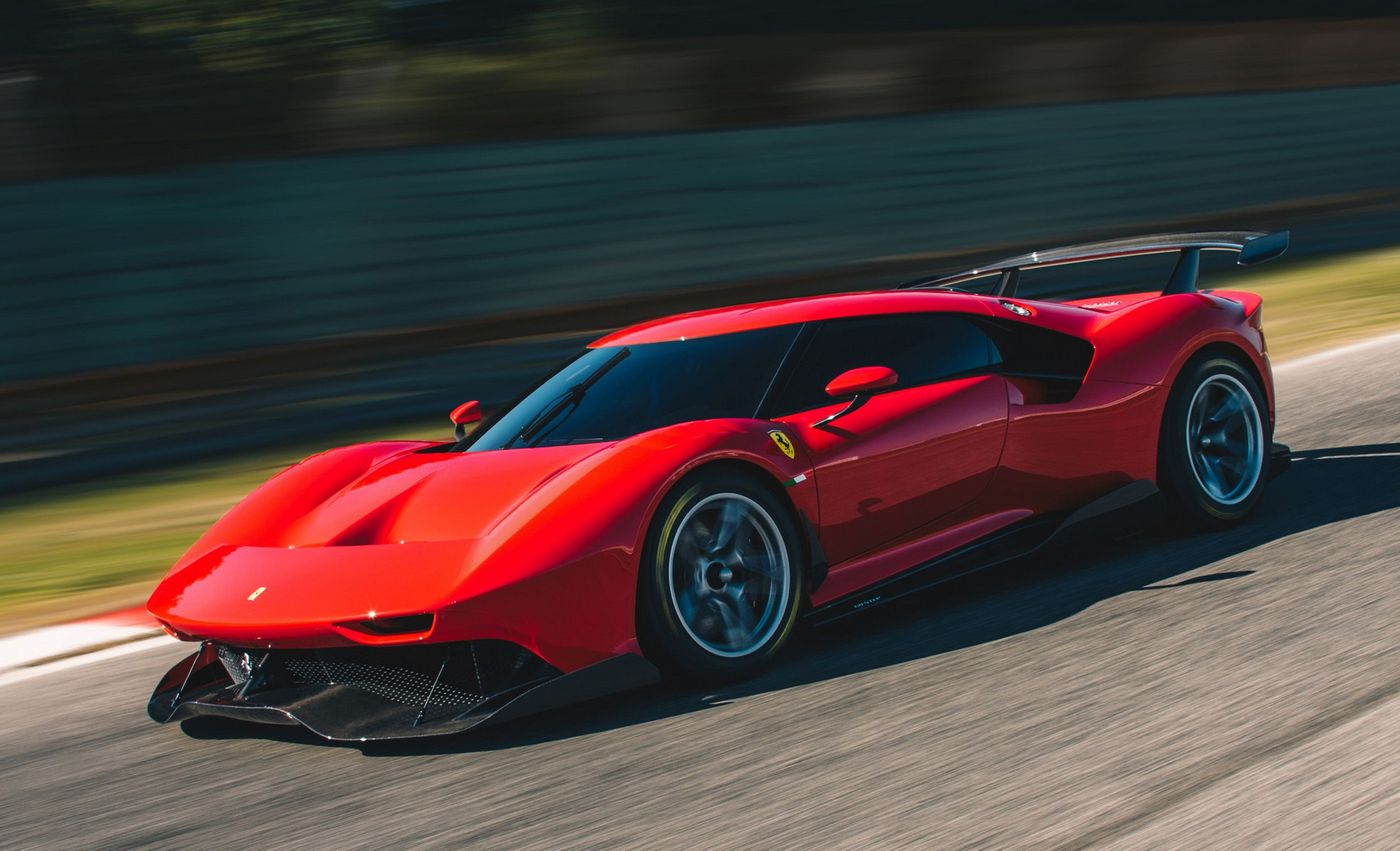 Inspired By The Prototypes Of The 1960s Ferrari Has Built A Track Beast For One Wealthy Customer Luxurylaunches