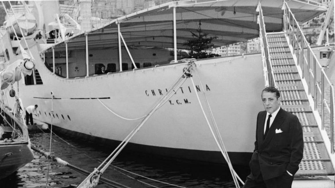 This 99-meter yacht belonged to Jackie Kennedy and you can