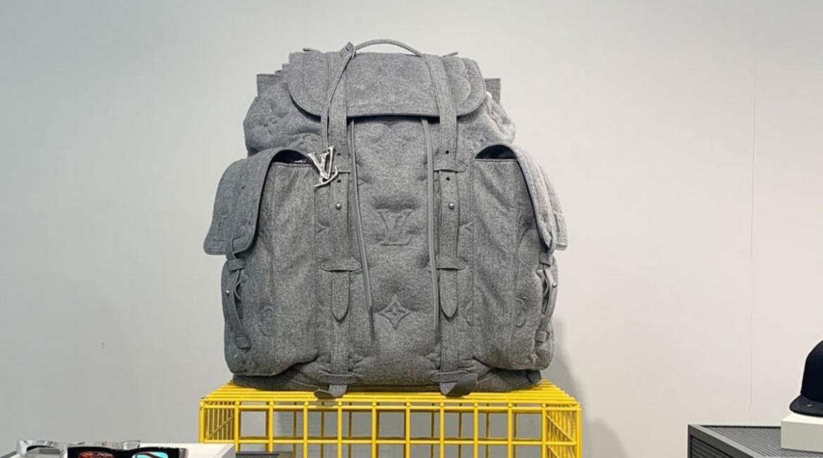 Louis Vuitton pays ode to the modest backpack with a glamorous and gigantic $10,000 version -