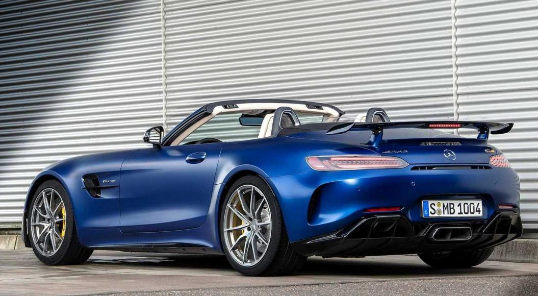 Most Expensive Mercedes >> The 2019 Mercedes-AMG GT R Roadster is here and it's just ...