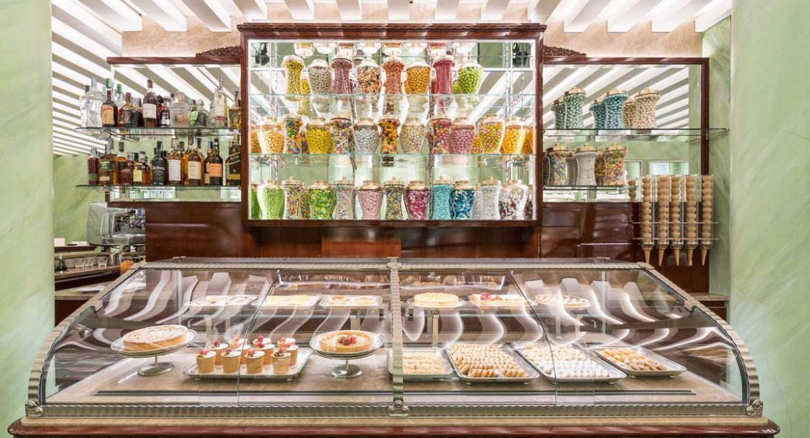 Londoners can now indulge in picture perfect Prada cakes and lattes -