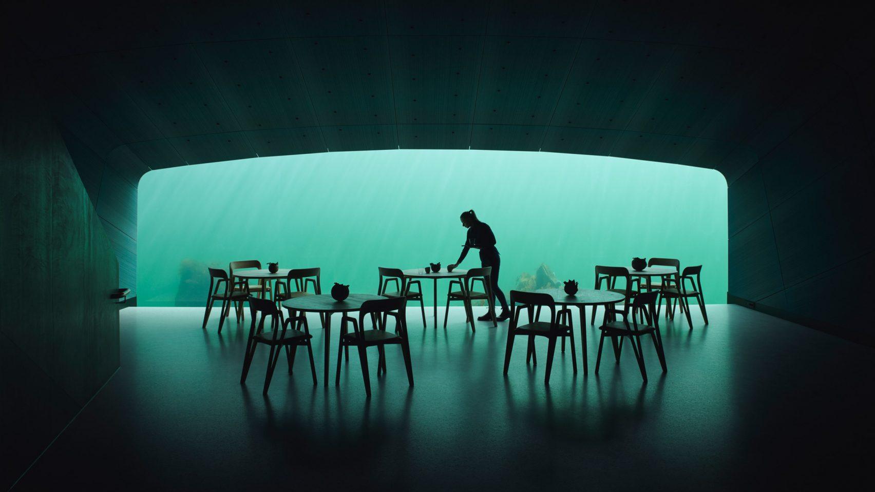 Now Open Europe S First Underwater Restaurant That