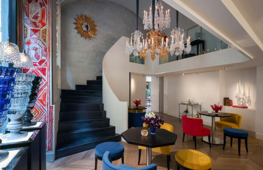 Baccarat opens boutique lounge - Bbar in Milan's Via Monte Napoleone -