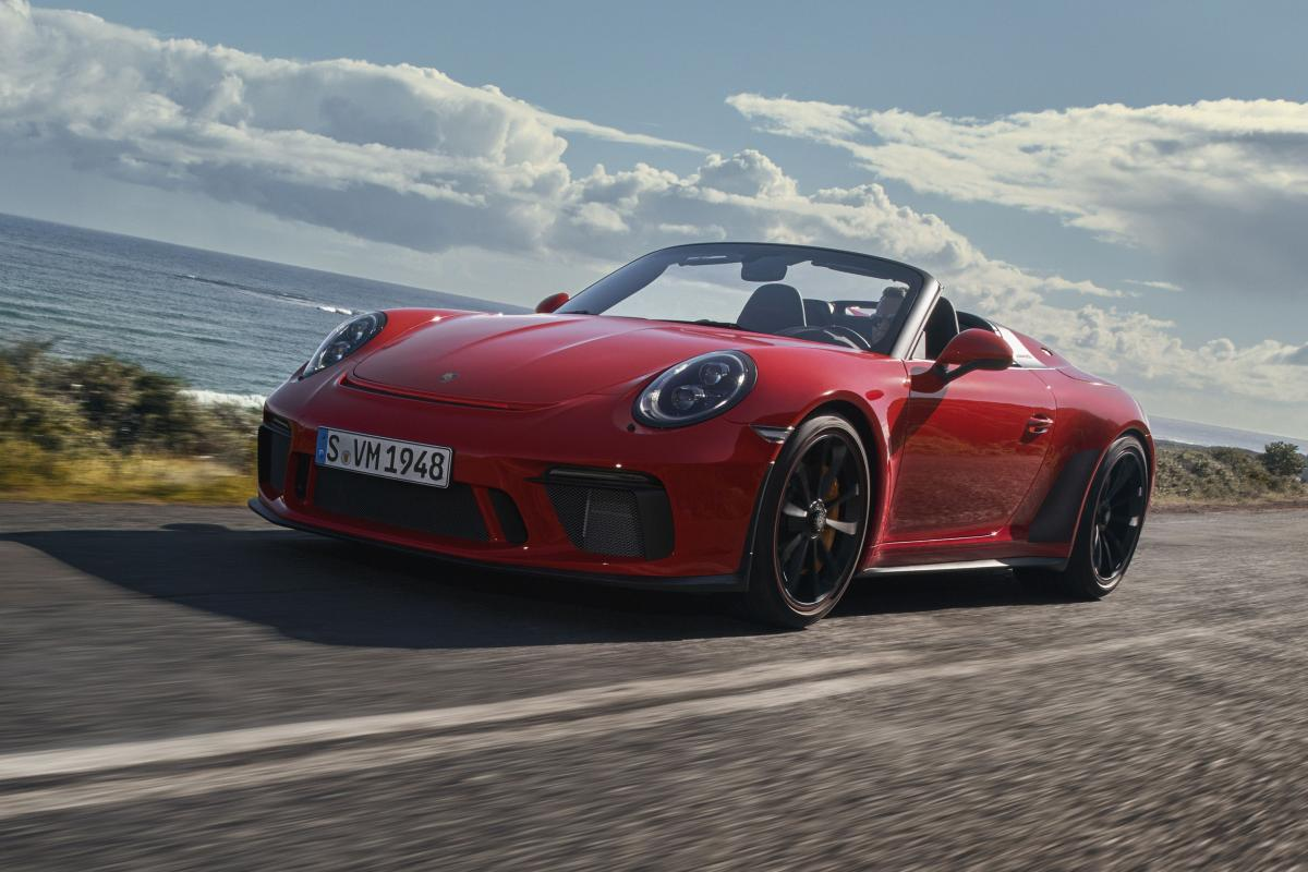 Limited-edition Porsche 911 Speedster is finally here and it can be yours for $274,500