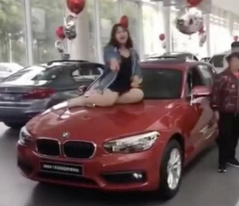 Police Called In By A BMW Dealership In China After An