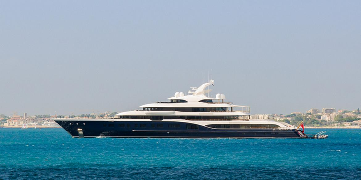 As long as a football field and costing $150 million - Take a closer look at Bernard Arnault's ultra luxury mega yacht -