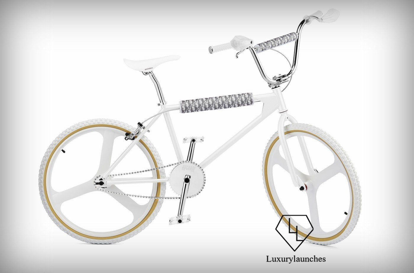 Dior and Bogarde team up yet again to create a limited edition pearl-finished BMX bike