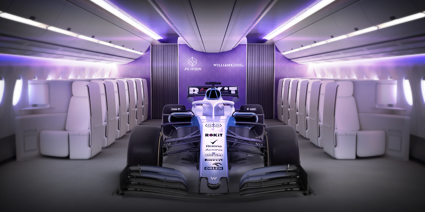Formula One Inspired Innovative Airline Seat Concept
