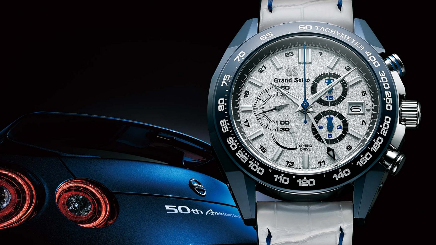 This limited edition Grand Seiko celebrates 50 years of ...