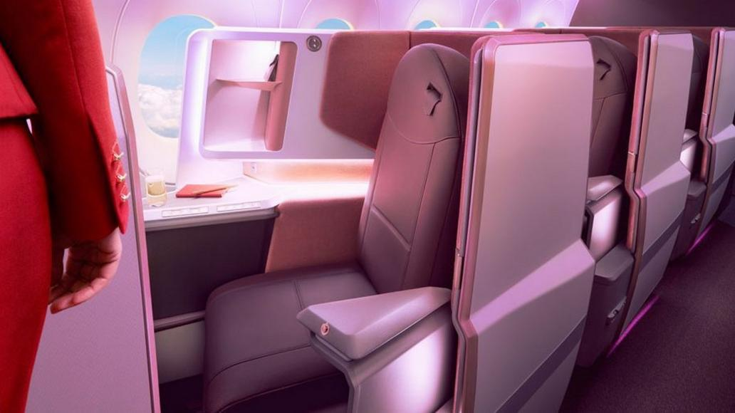 Virgin Atlantic unveils new business class suites - More privacy, comfort, tech and personalised mood lighting -
