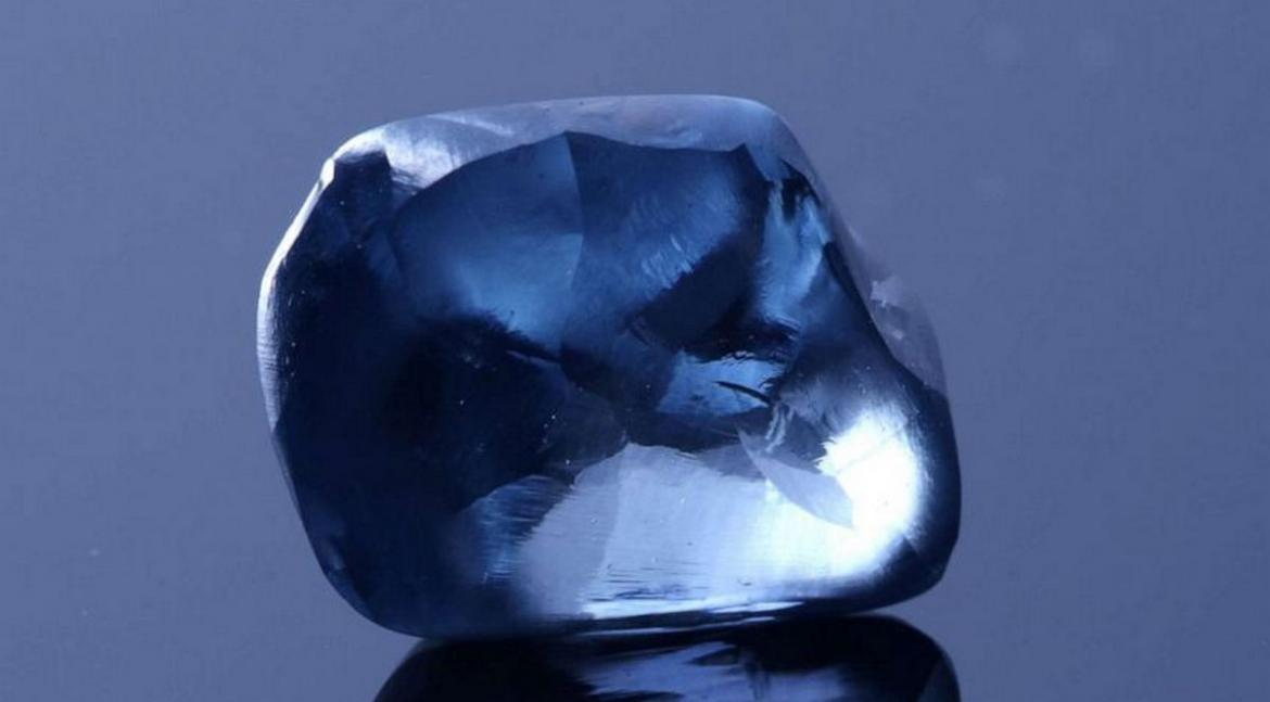 The largest blue diamond is Bostawa's priceless pride -