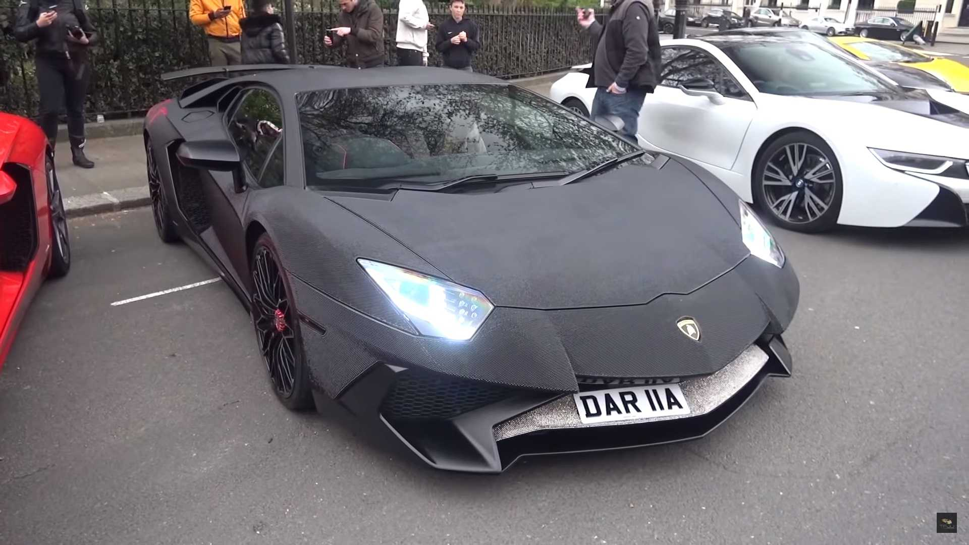 Someone Has Customized A Limited Edition Lamborghini