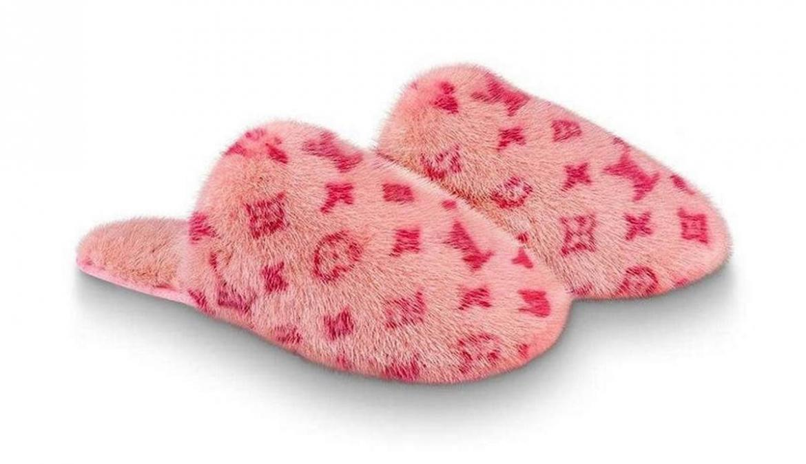 Louis Vuitton has a pair of fluffy slippers that cost $2,040 and we can't understand why -