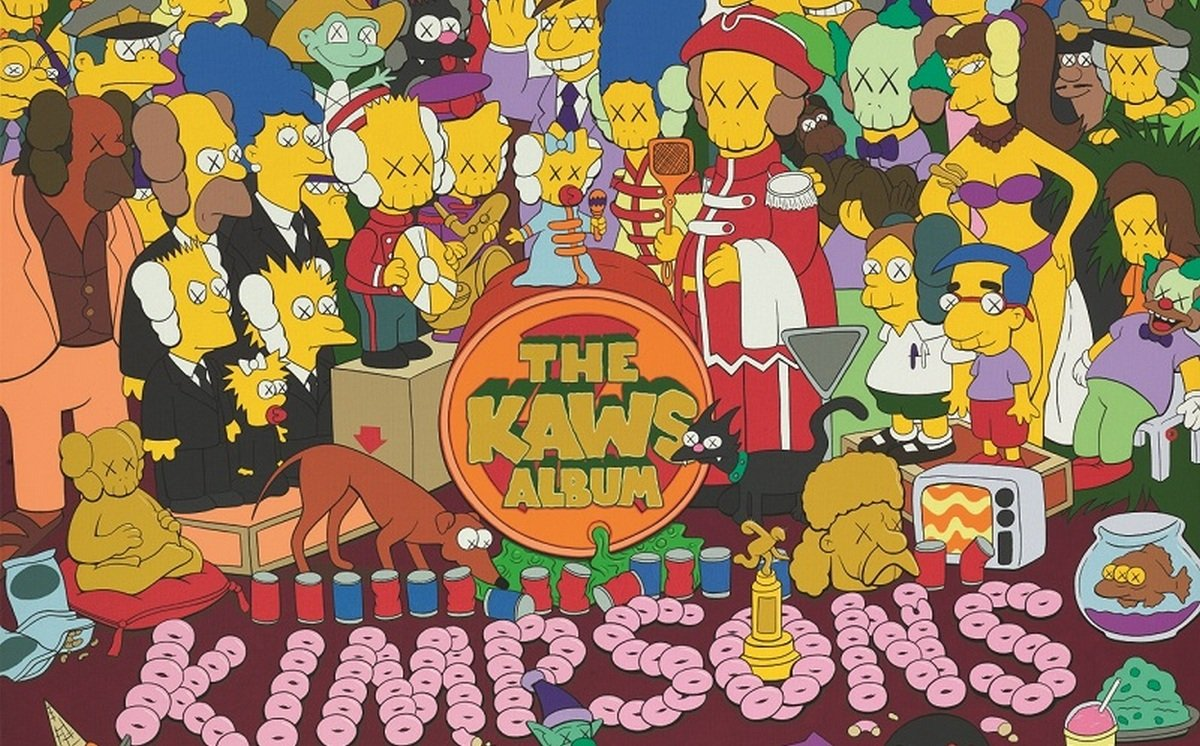 The Power Of Millennials A Simpsons Themed Artwork By