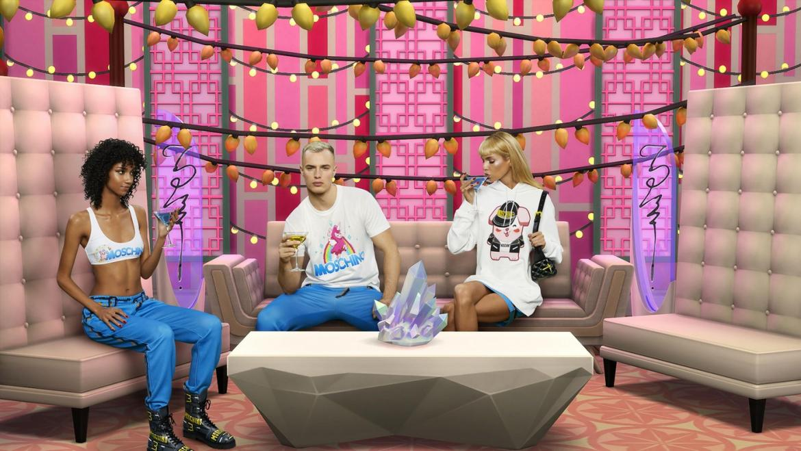 Moschino unveils new collection inspired by popular 2000s video game - The Sims -