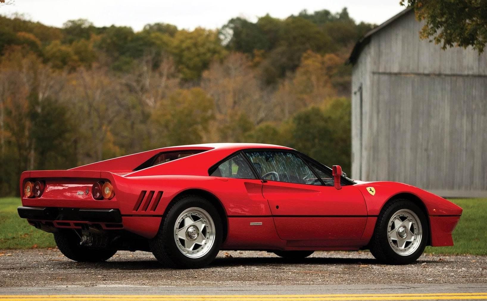 A thief sped off with ex-F1 diver Eddie Irvine's $3.8 million Ferrari during a test drive