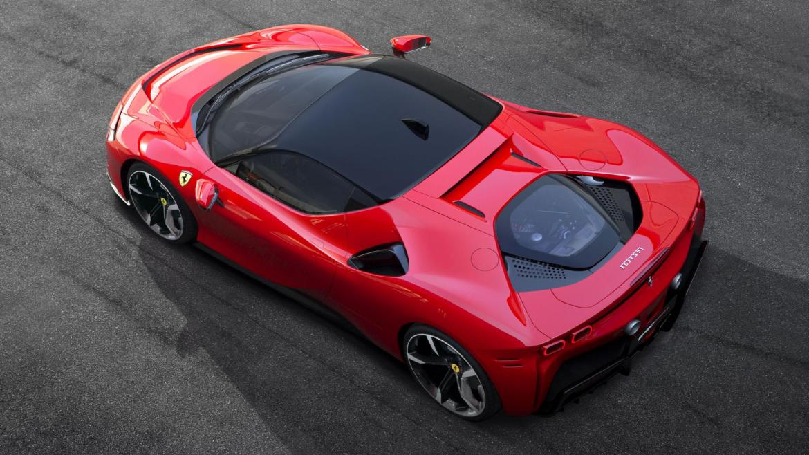 Everything you need to know about the Ferrari SF90 Stradale: Ferrari's first ever plug-in hybrid hypercar with 986 horsepower -