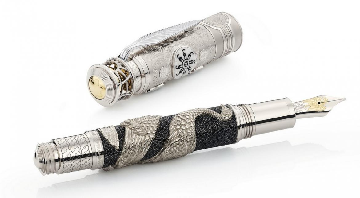 Montblanc latest Patron of Art collection of writing instruments pays homage to the Roman Emperor Hadrian -
