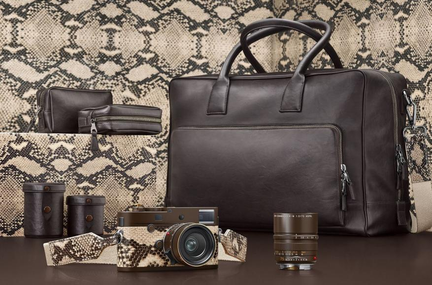 Leica has teamed up with Lenny Kravitz for a $24k special edition snakeskin camera -