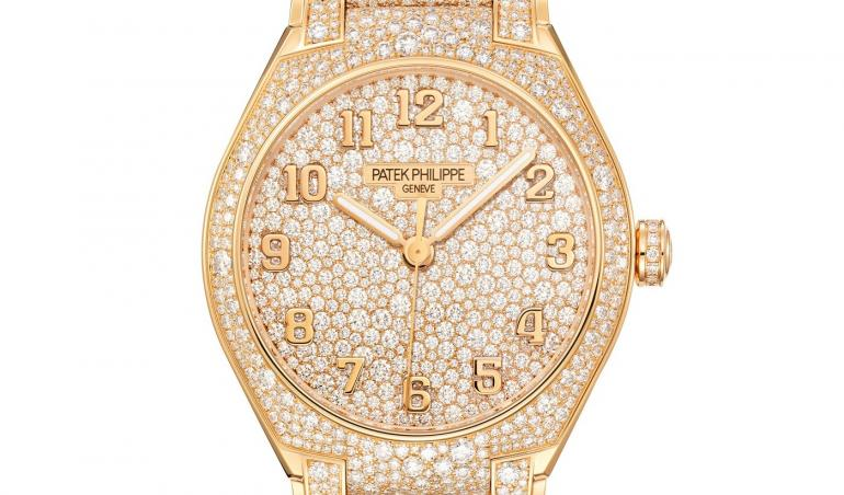 From cartier to patek philippe check out these 11 high jewelry watches that tell the time in a for Patek phillipe watch