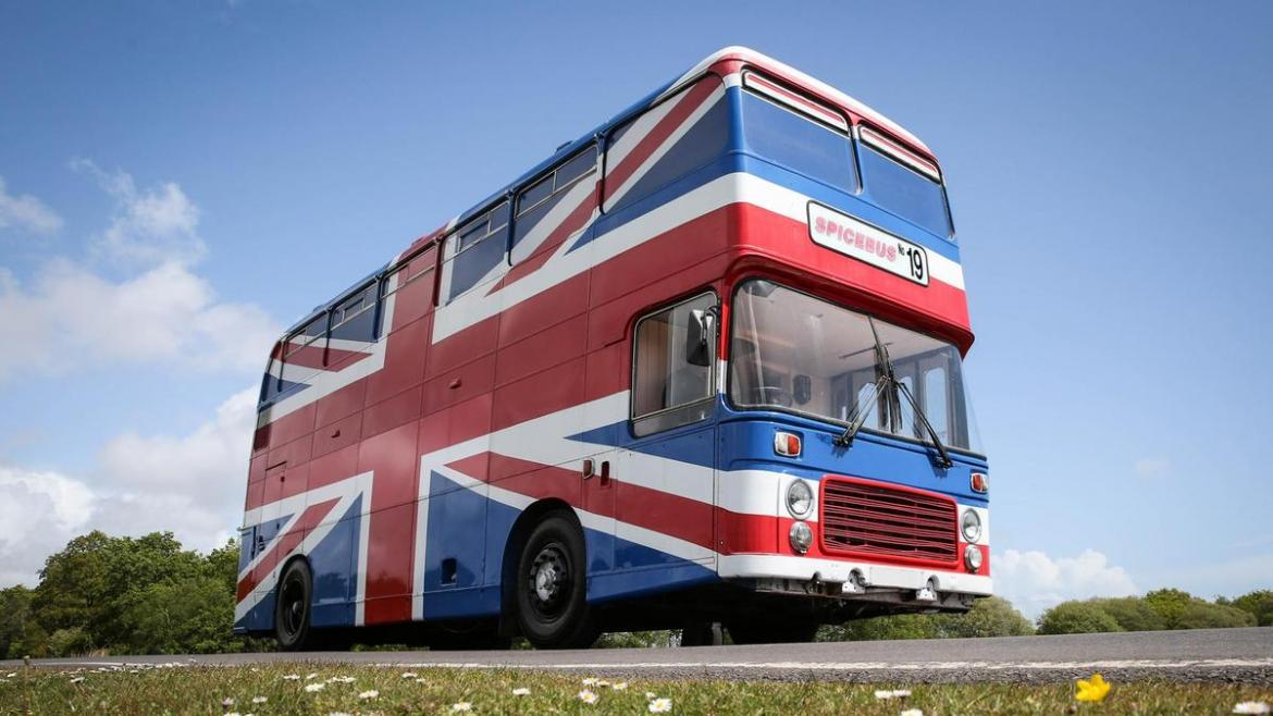 You can now AirBnB the original Spice Girl double-decker bus from the movie 'Spice World' -