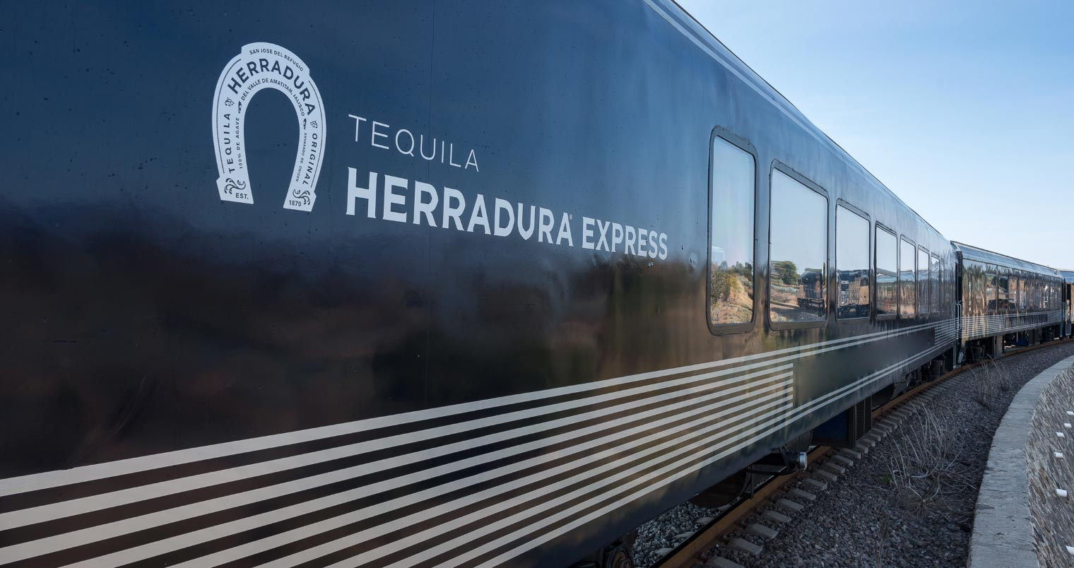 A luxury train that zips through Mexico and offers all you can drink Tequila
