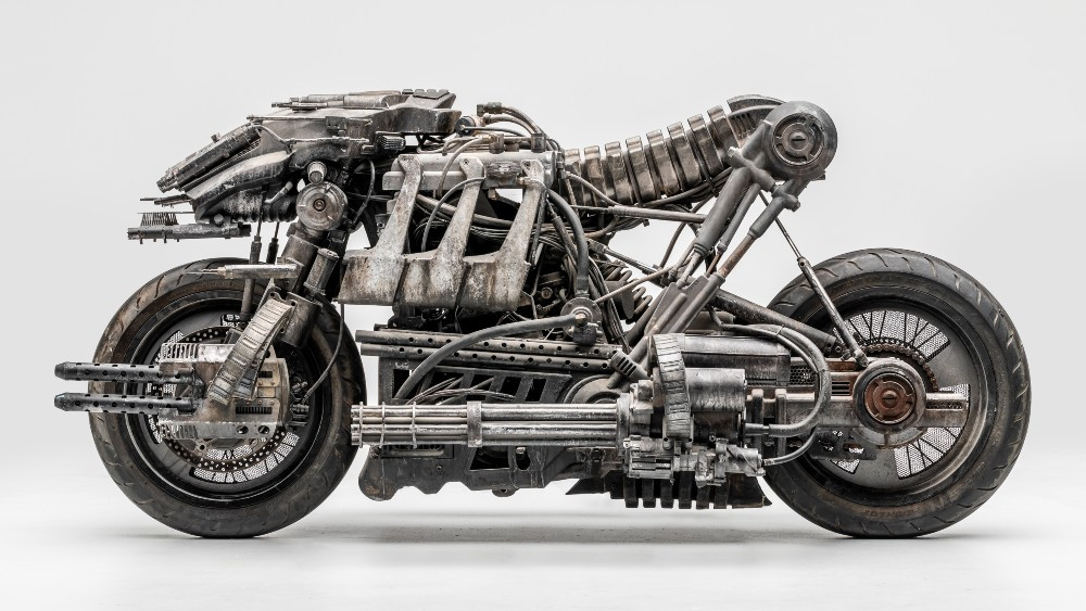 """The """"Terminator"""" motorcycle is one of the most badass fully-functional movie props ever created -"""