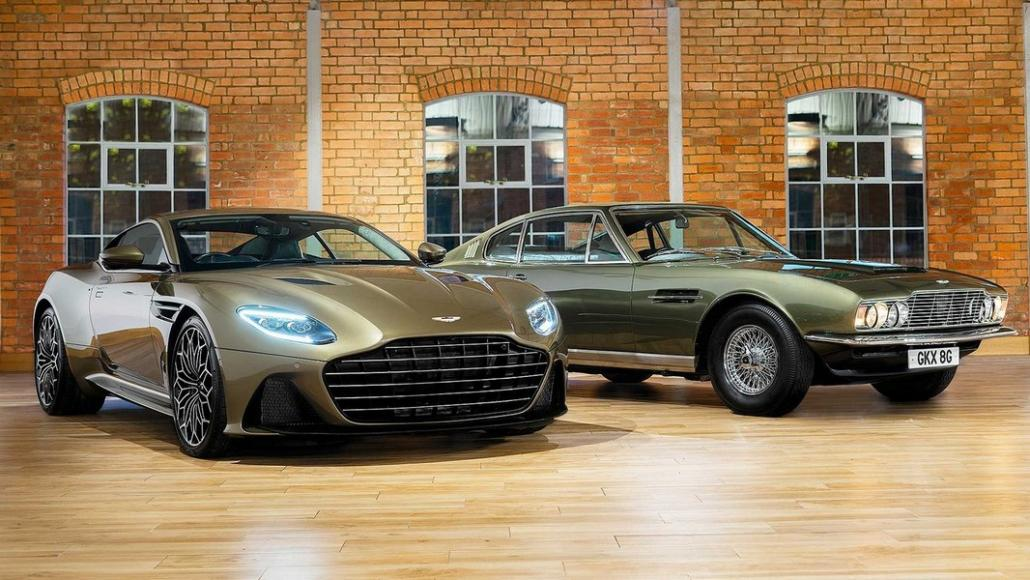 Aston Martin pays tribute to James Bond with a very expensive limited edition DBS -