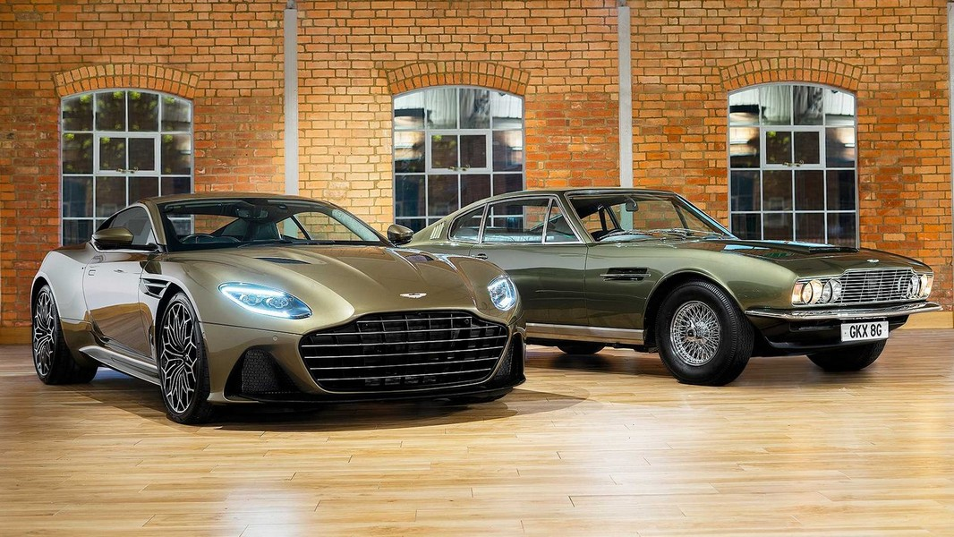 Aston Martin pays tribute to James Bond with a very expensive limited edition DBS