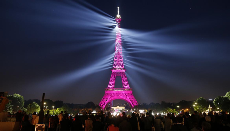 Parisians celebrate joie de vivre as the Eiffel Tower turns 130 -