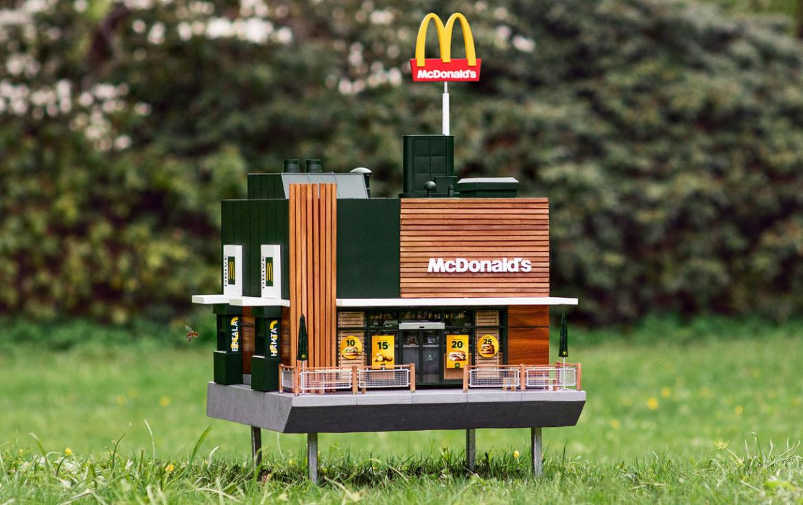Take a look at the smallest McDonalds in the world -